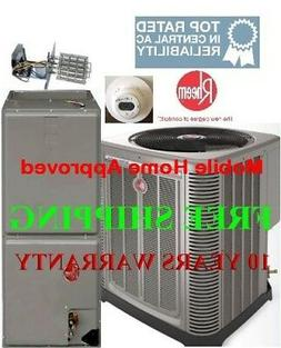 3.5 Ton R-410A 14 SEER Complete Mobile Home Heat Pump System